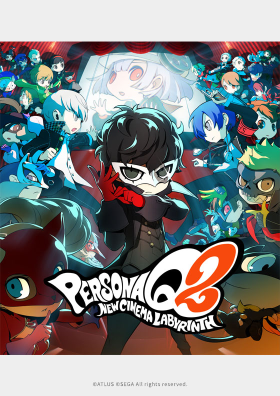 Persona Q2: New Cinema Labyrinth IN-GAME ANIMATION